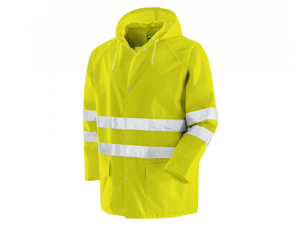 Abbigliamento di sicurezza giacca e pantalone alta visibilità