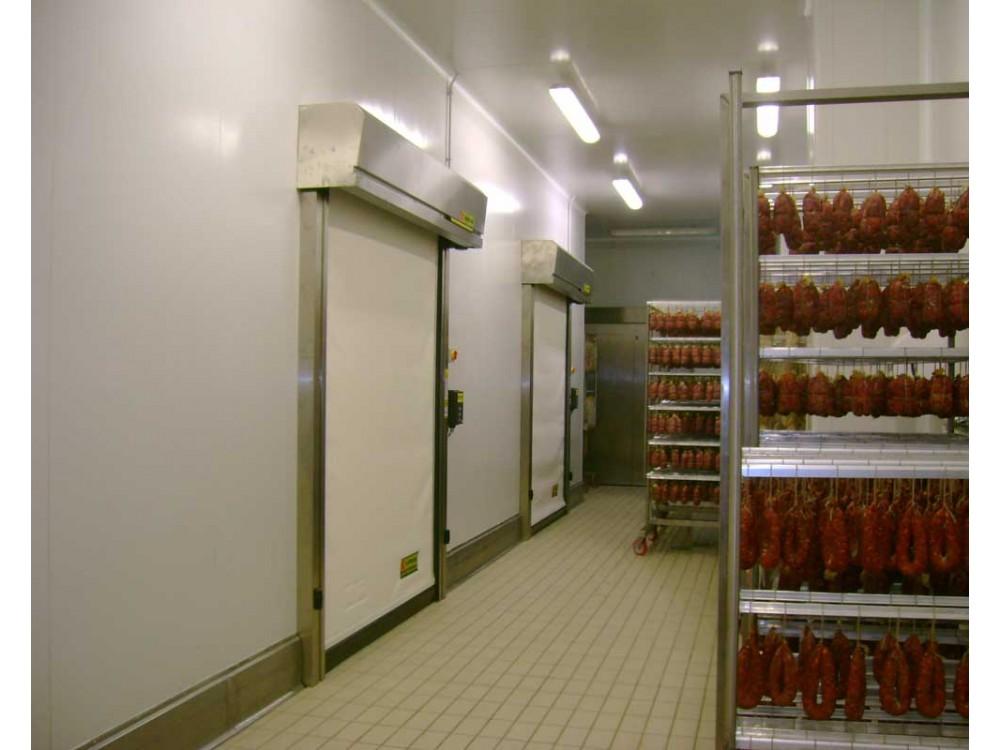 Porta rapida autoriparante per il settore alimentare