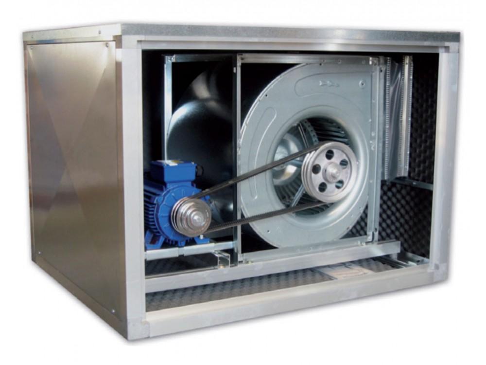Ventilatore cassonato BD-Box con trasmissione a cinghia