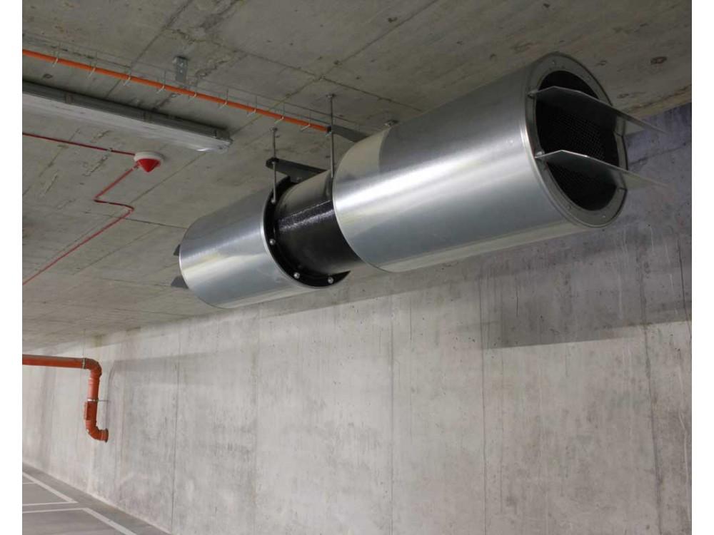 Ventilatore assiale per parcheggi JP-Duct