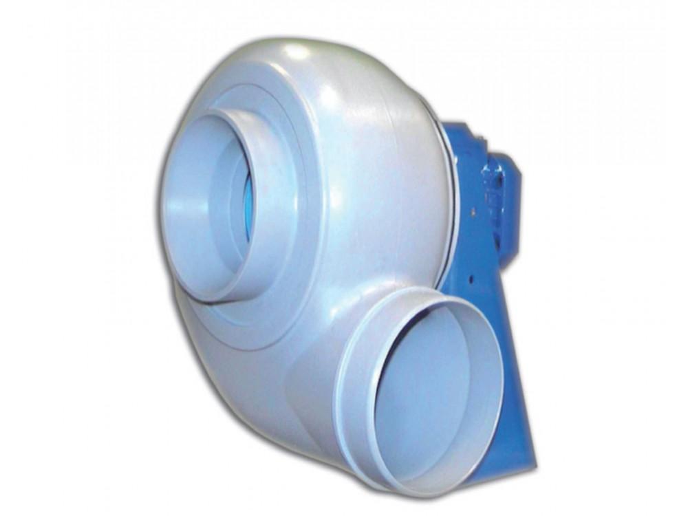 Ventilatore centrifugo Plastic a pale rovesce per fumi corrosivi
