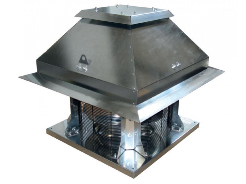 Torrino centrifugo Roof-CM HT a flusso orizzontale per fumi d'incendio