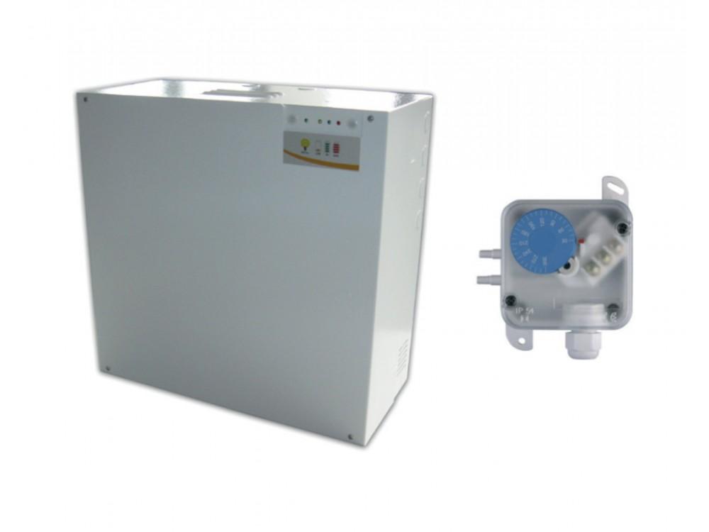 Kit di pressurizzazione per filtri a prova di fumo Smofil