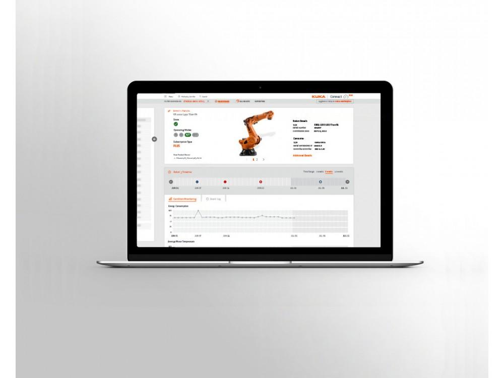 Piattaforma software per l'analisi dei dati dei robot