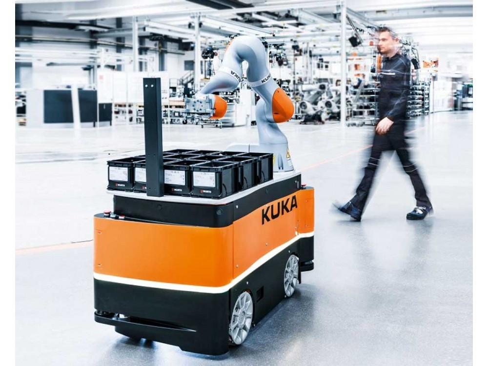 Robot mobile a navigazione autonoma KMR iiwa