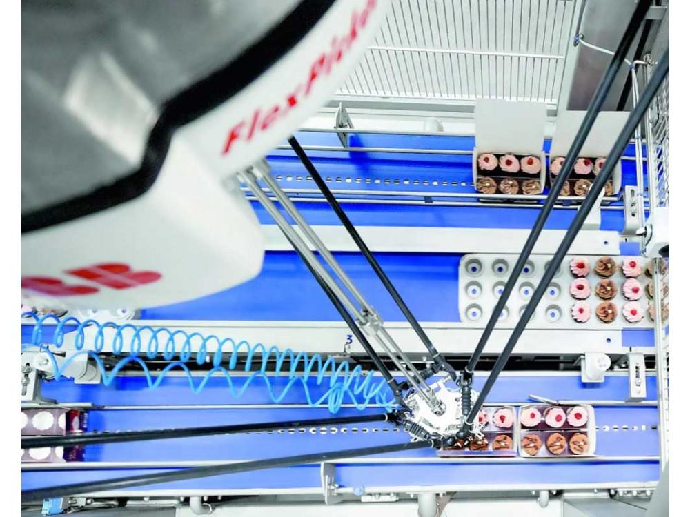 Robot per prelievo e imballaggio ad alta velocità