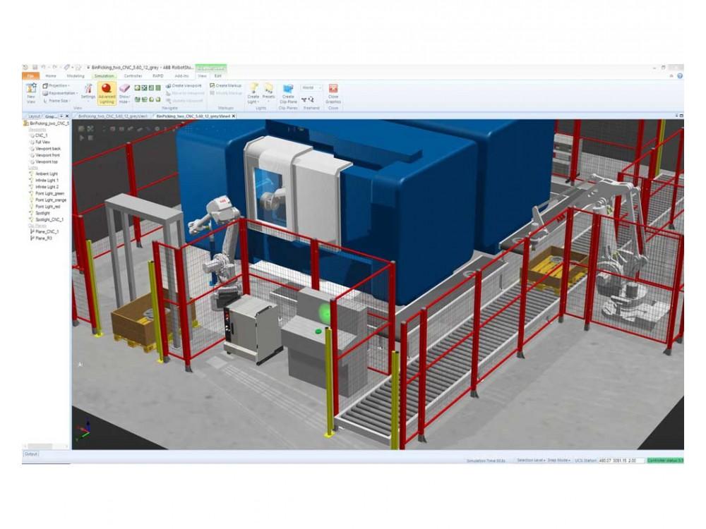 Software di simulazione e programmazione off line RobotStudio
