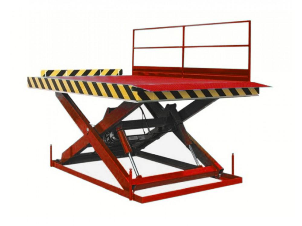 Piattaforma elevatrice per carico automezzi