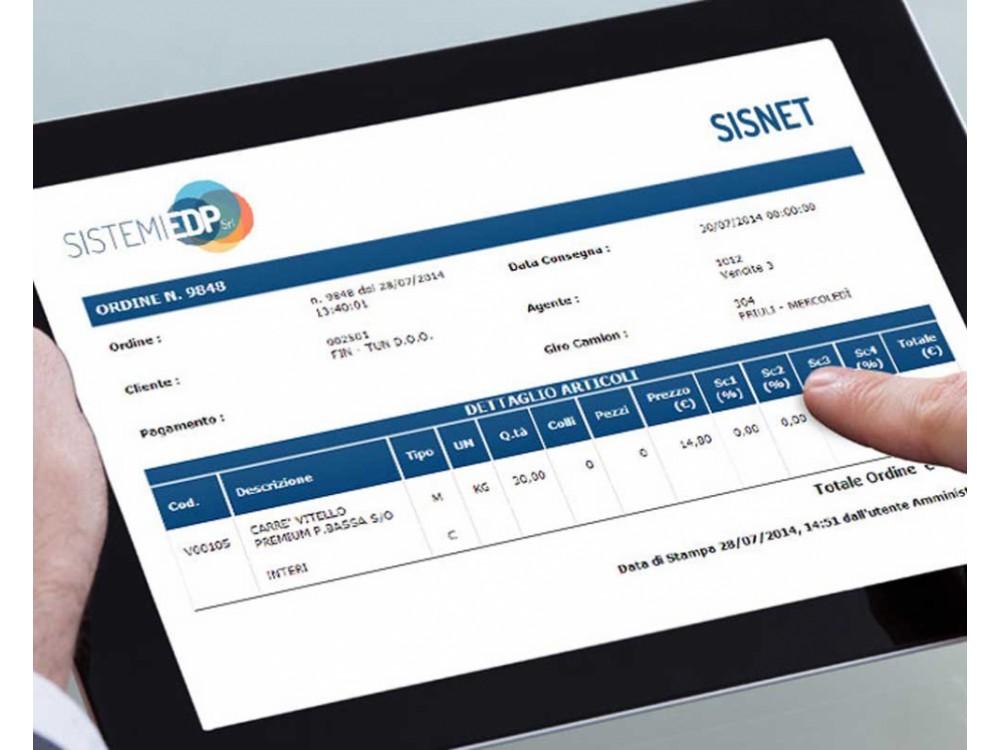 Software per la gestione delle vendite e ordini degli agenti
