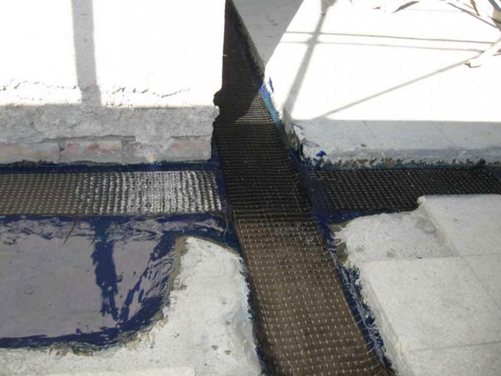 Consolidamento di pavimento con sigillanti per giunti