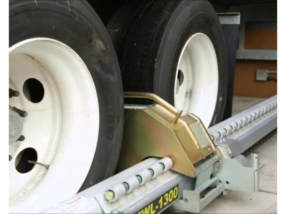 Sistema manuale di bloccaggio ruote