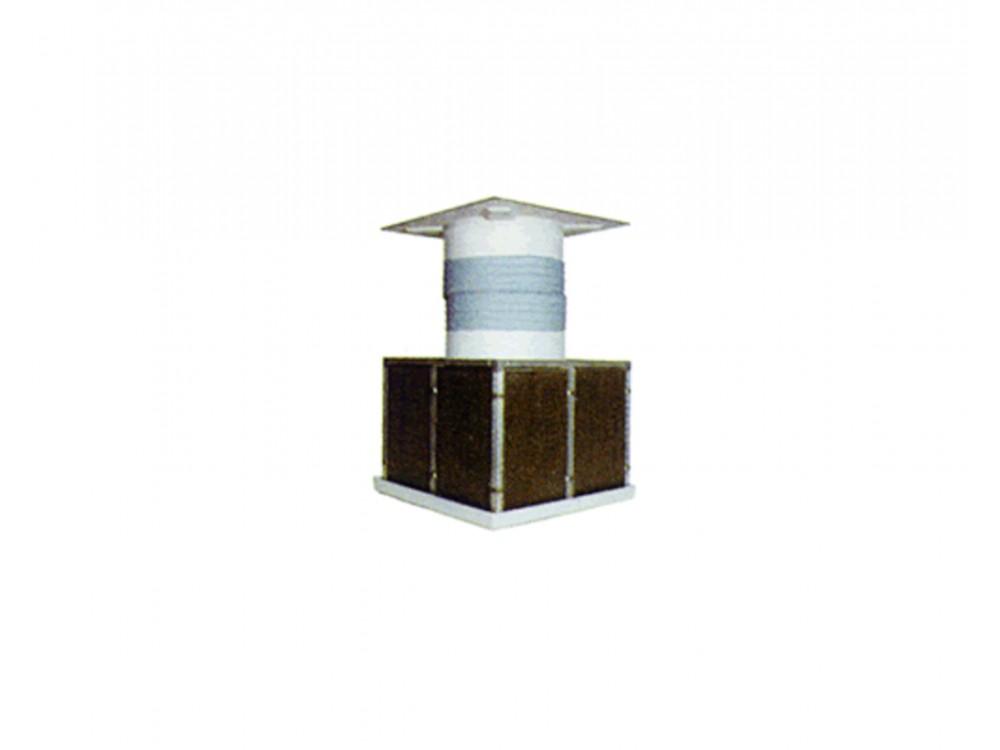 Estrattore d'aria con filtrazione a pannelli Aerfilter
