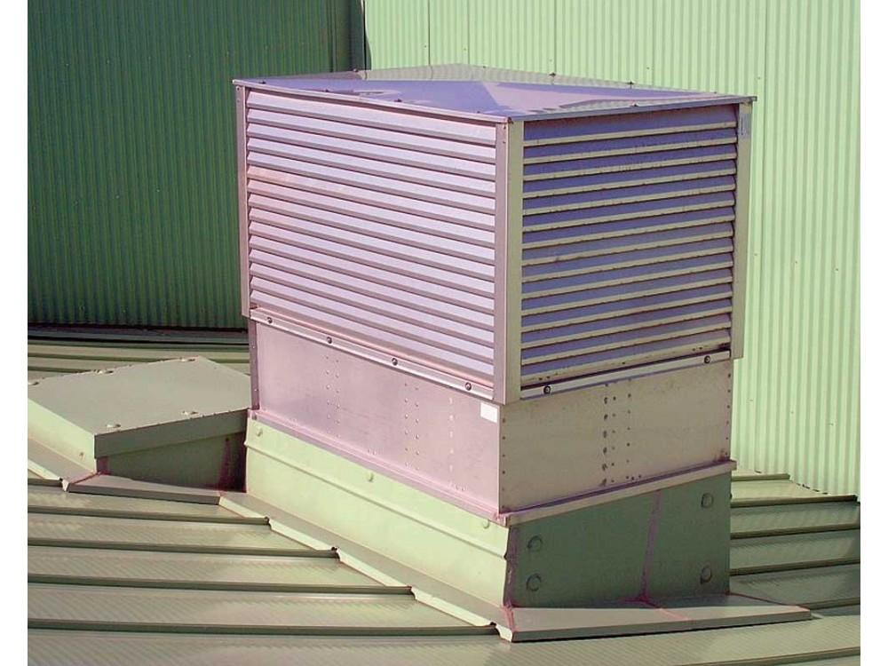 Torrino per aerazione naturale in acciaio Inox Aerlit AN