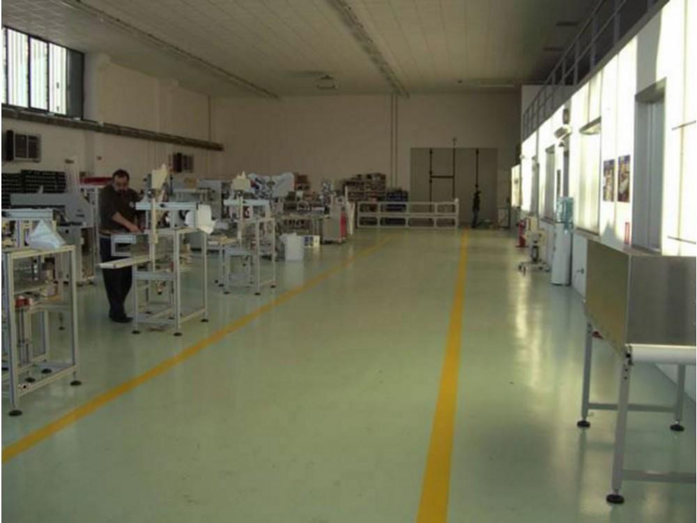 Pavimento speciale per la produzione farmaceutica ospedaliera