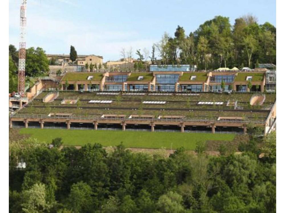 Giardini pensili e tetti verdi con membrane antiradici DERBIGUM
