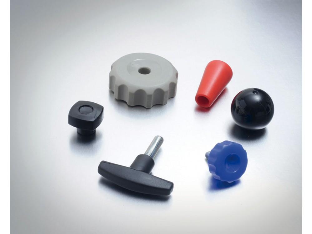 Elementi di manovra e serraggio