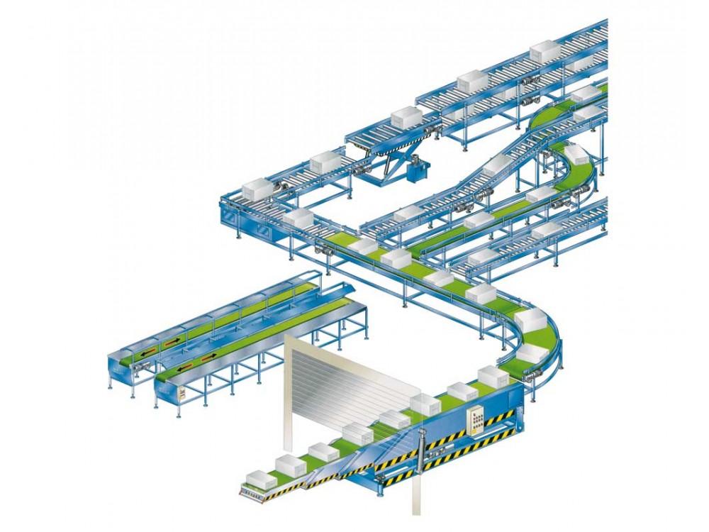 Impianti automatizzati di gestione fine linea