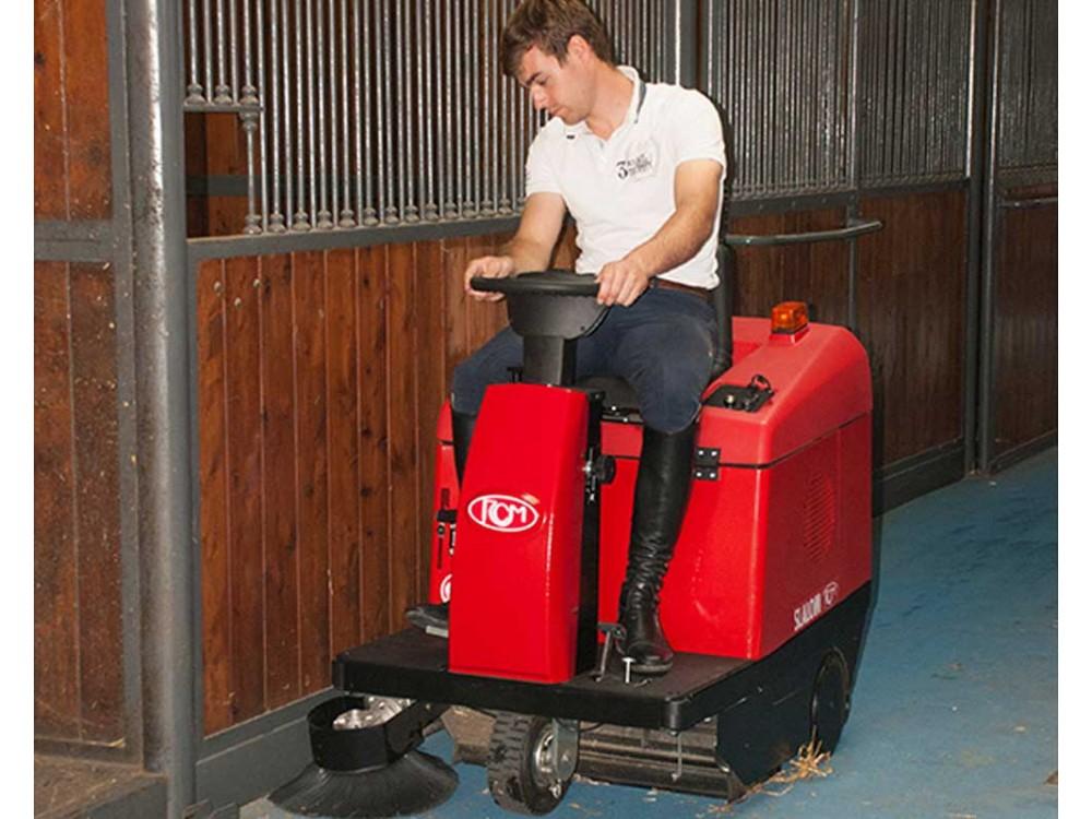 Lavamoquette uomo a bordo RCM Slalom Carpet