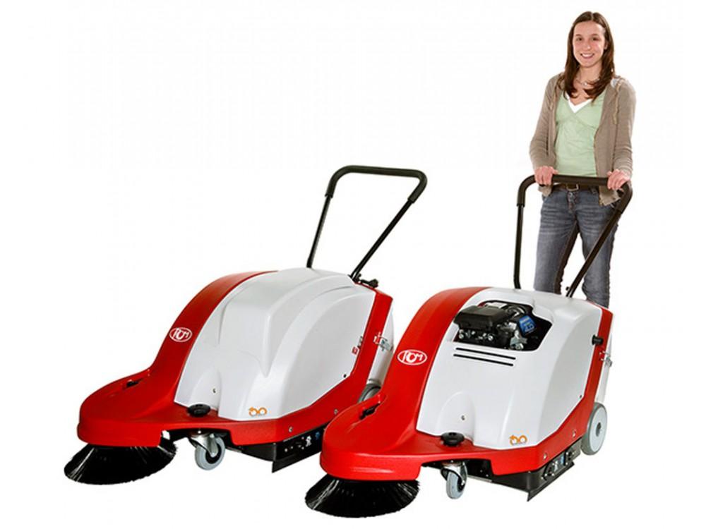 Motoscopa per pulizia campi in erba sintetica Alfa Ace