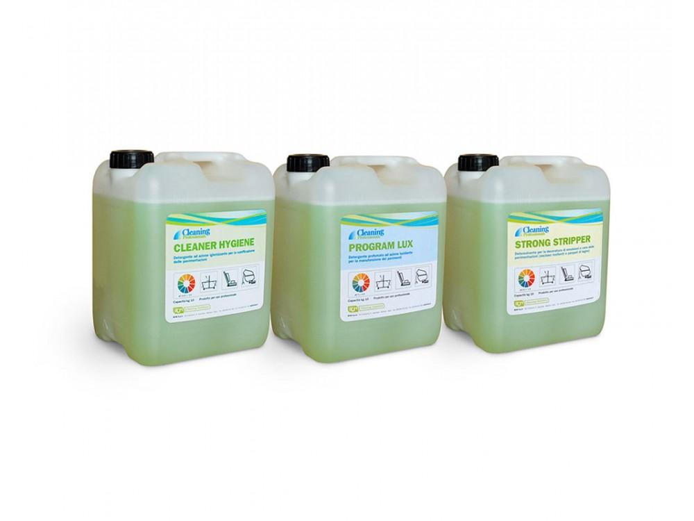 Detergenti ed igienizzanti per macchine professionali