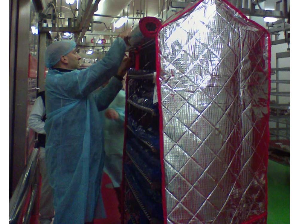 Copertura termica in PVC su misura