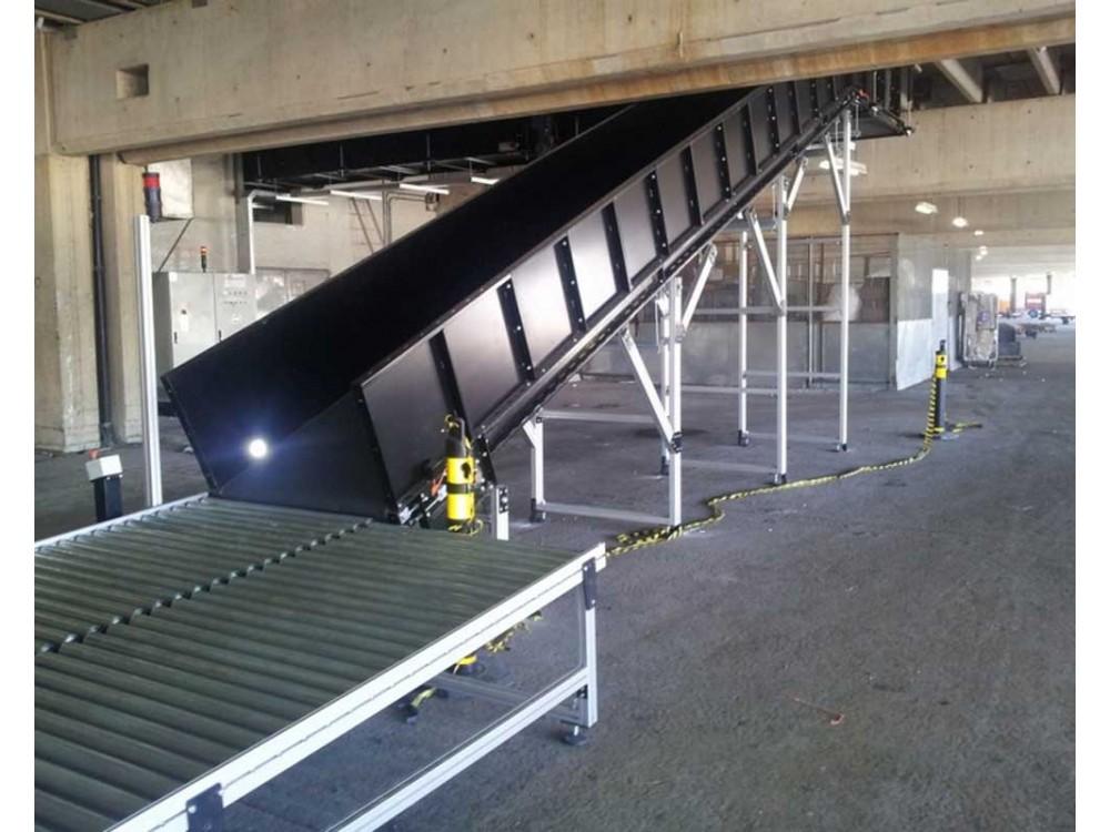 Trasportatori e deviatori per la movimentazione bagagli