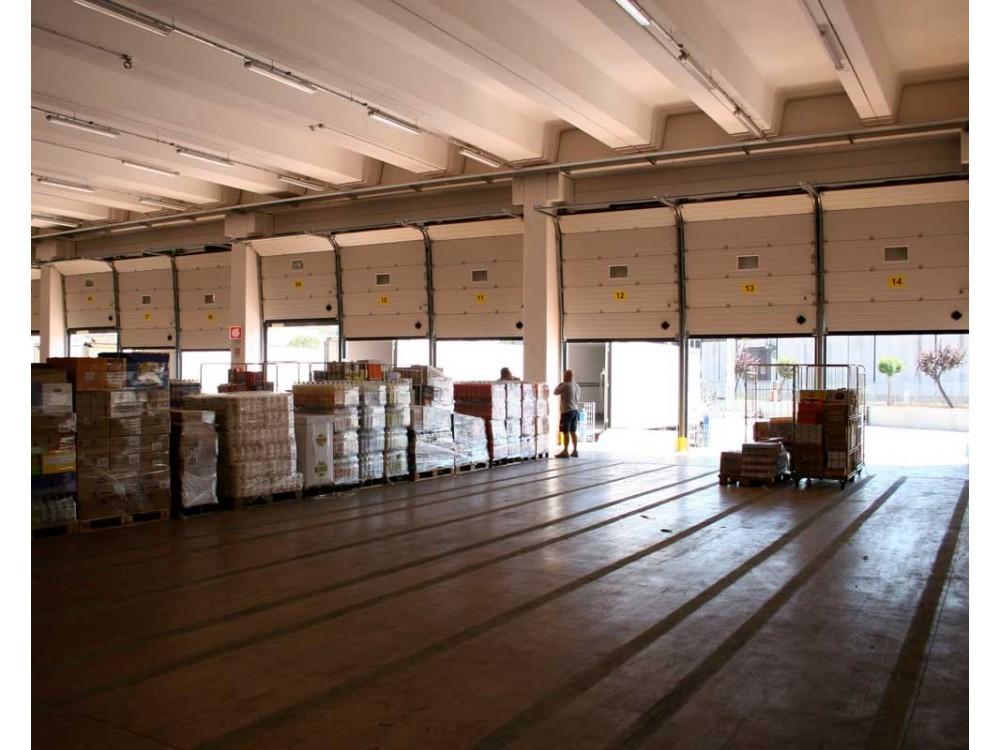 Portone sezionale per baie di carico Cargo
