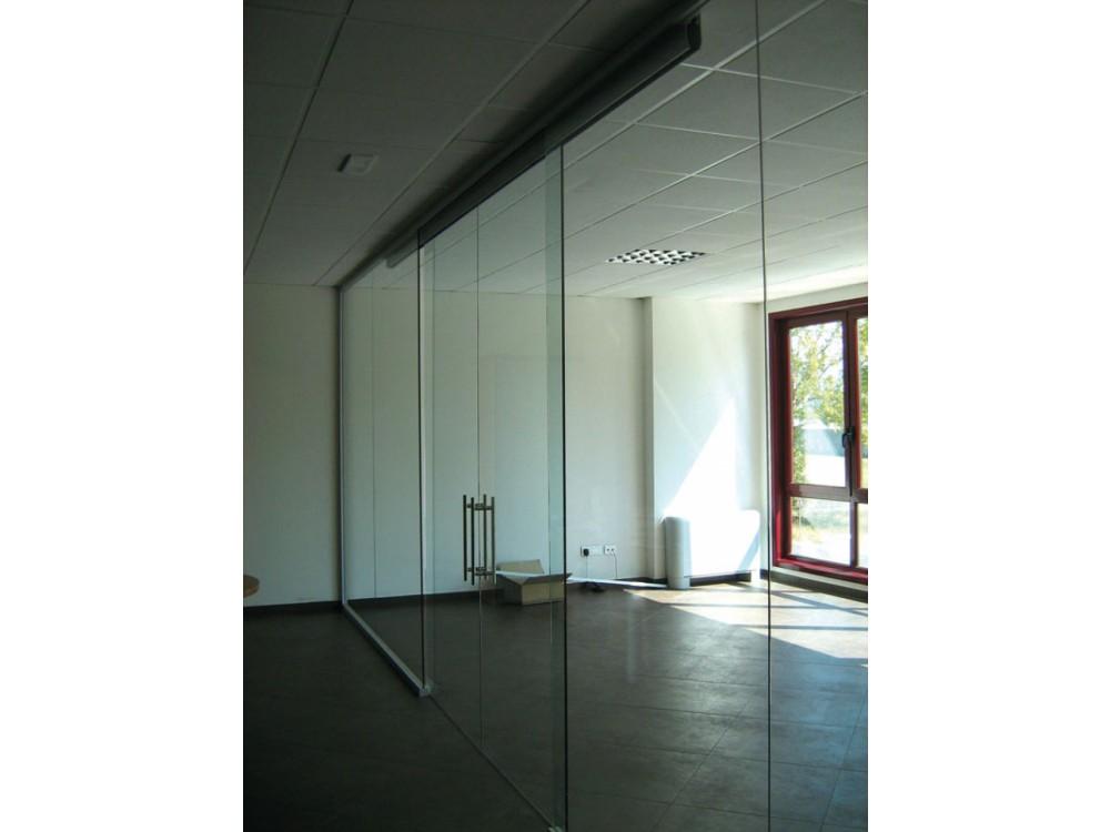 Parete vetrata scorrevole per sala riunioni