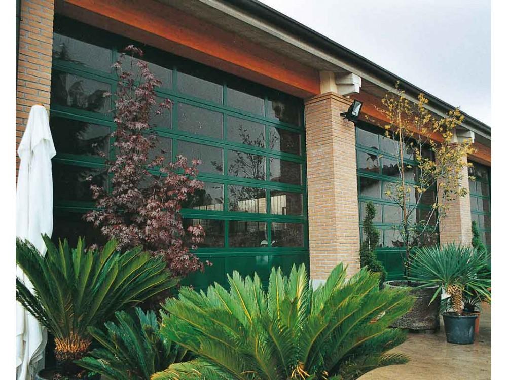 Sezionale vetrato in alluminio Full Vision