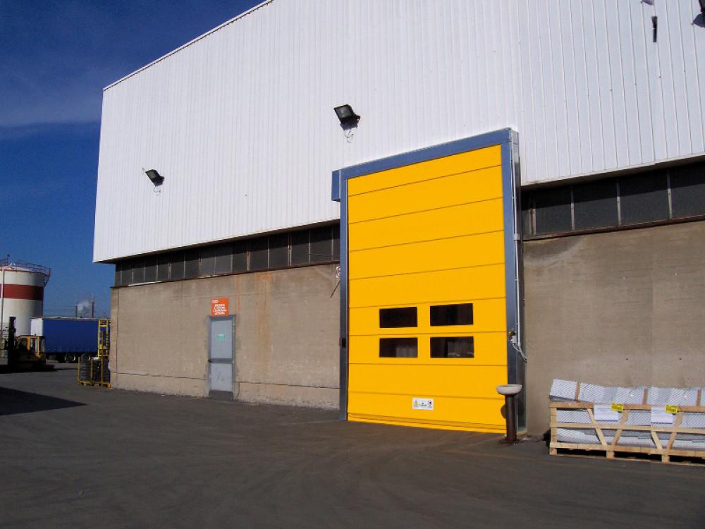 Porta ad impacchettamento rapido in PVC per grandi vani Fulmine
