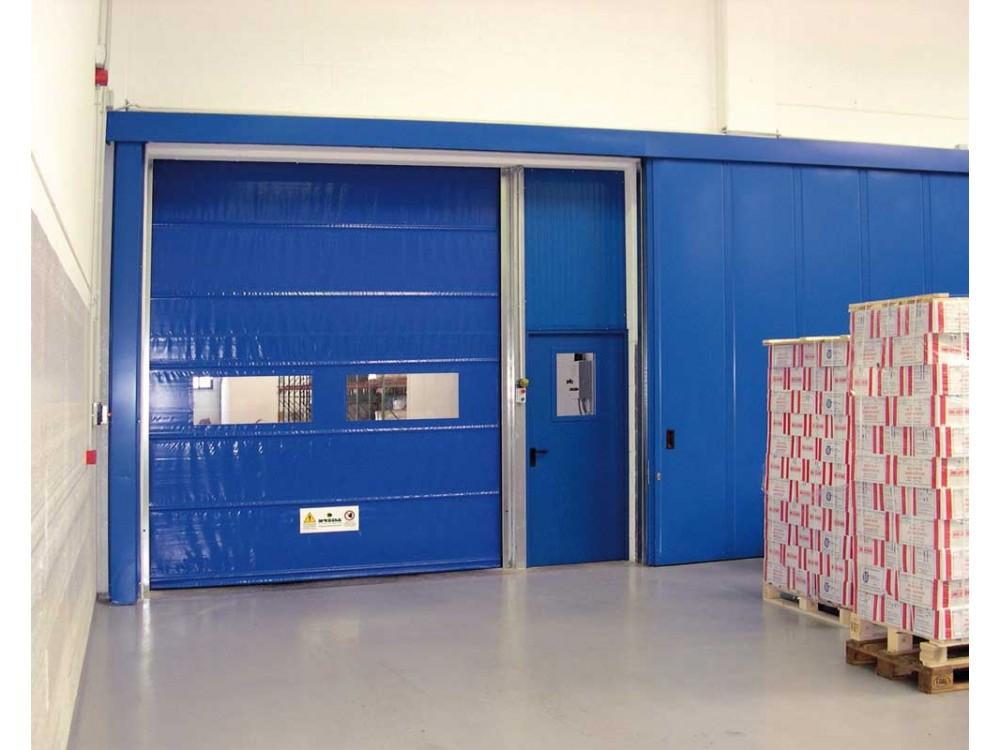 Porta rapida per ambienti industriali