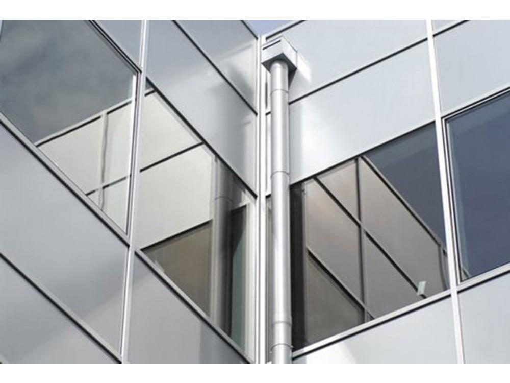 Finestre continue con vetri isolanti in ambiente ospedaliero