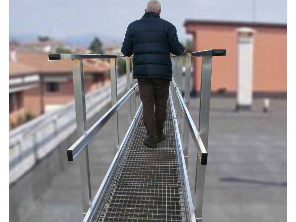 Passerelle di camminamento in alluminio