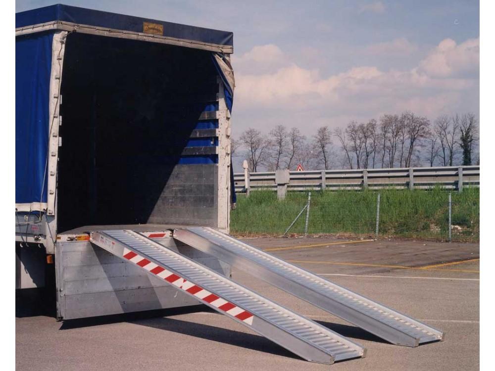 Rampe di carico leggere in alluminio estruso