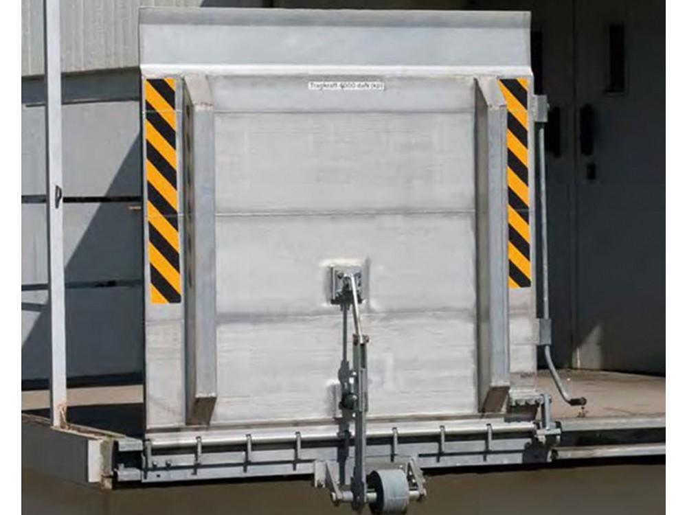 Ponte di carico a posizionamento manuale