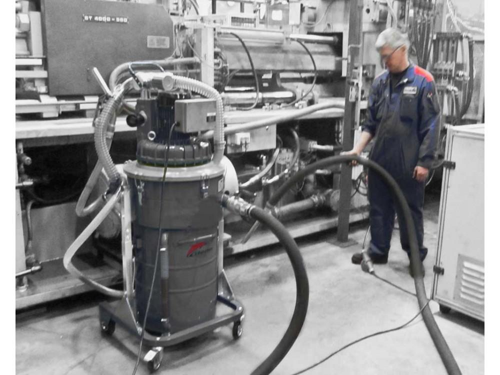 Aspiratore per separazione trucioli metallici e olio lubrificante TC100 IF 3M