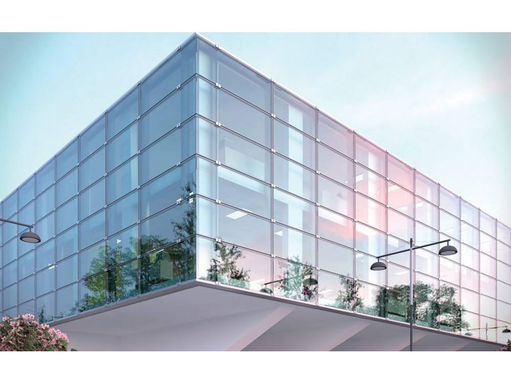 Facciata strutturale in vetro Klima ad alta efficienza termica