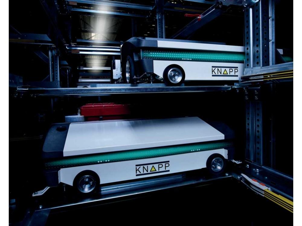 Shuttle di servizio per magazzino automatico