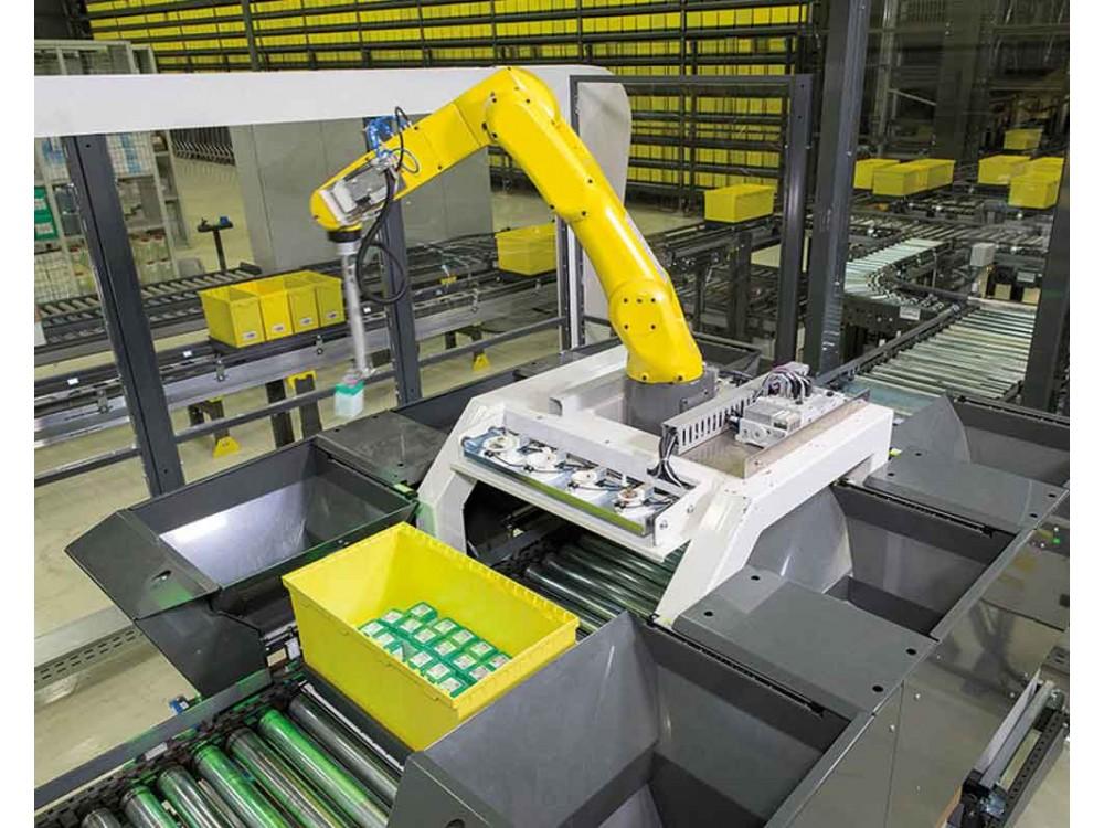 Stazione di prelievo automatico robotizzata