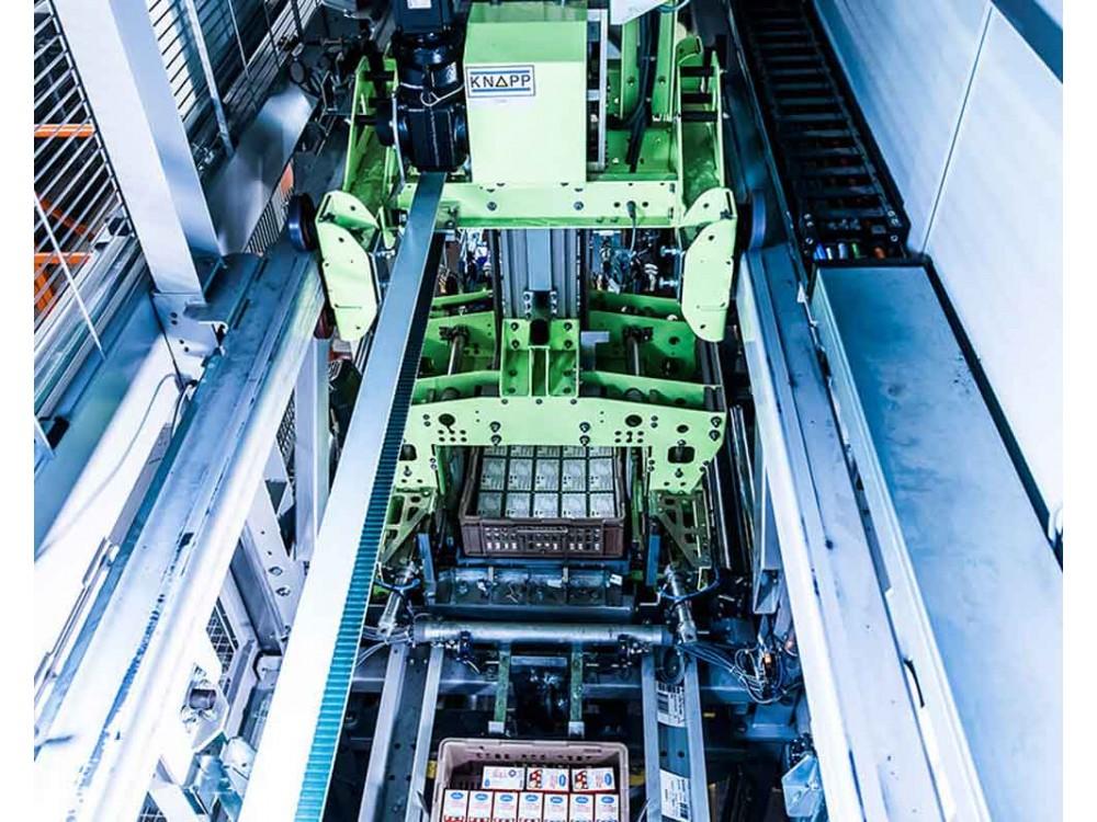 Pallettizzatore robotizzato per impianti automatici
