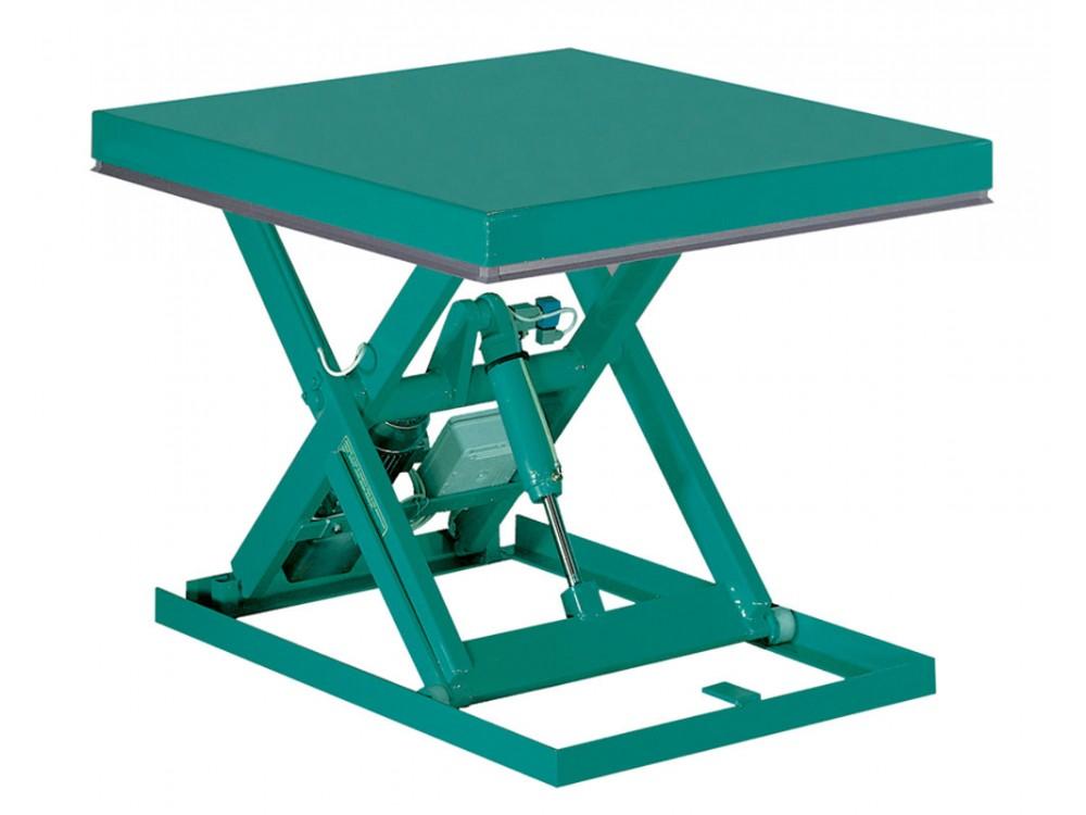 Piattaforma a pantografo ergonomica