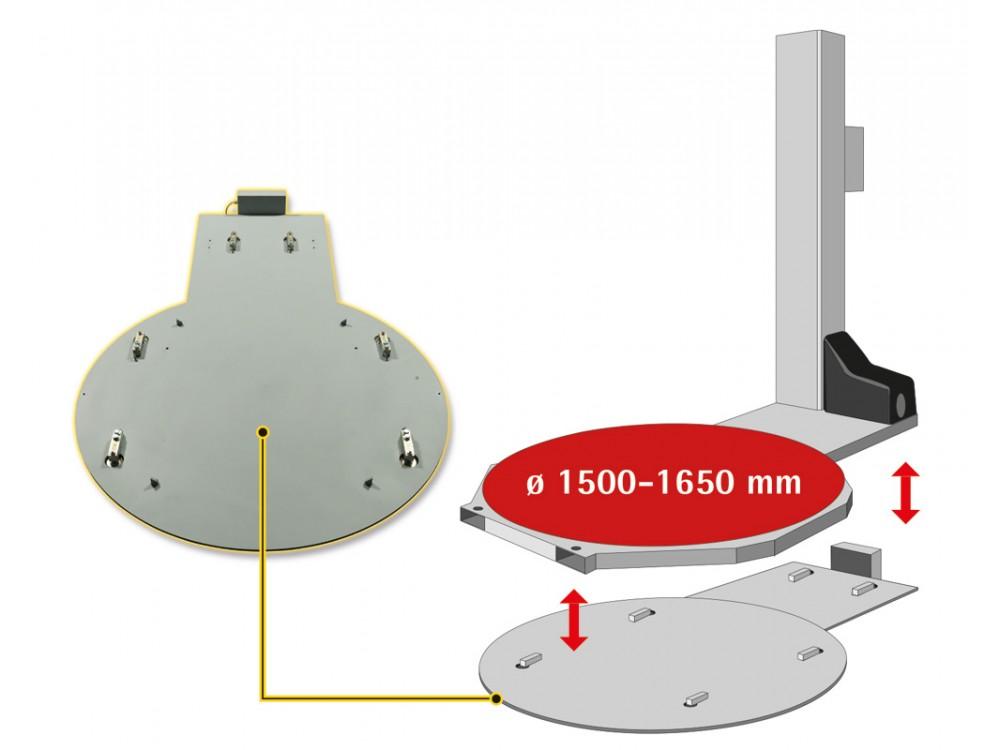 Sistema di pesatura integrabile con fasciapallet
