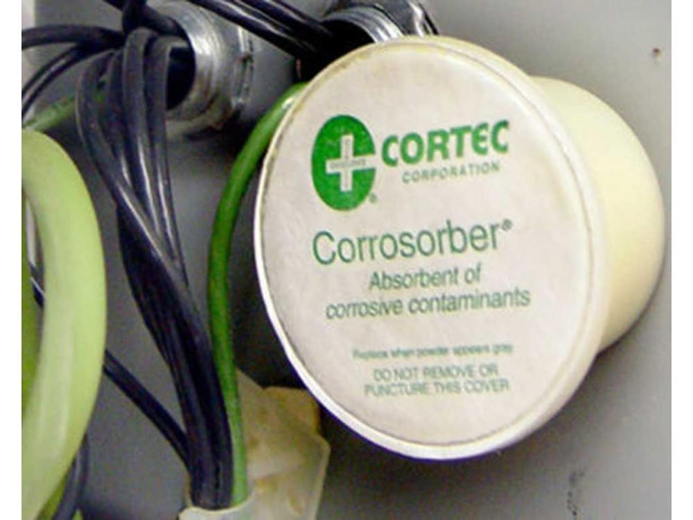 Capsula assorbente per contaminanti chimici Corrosorber