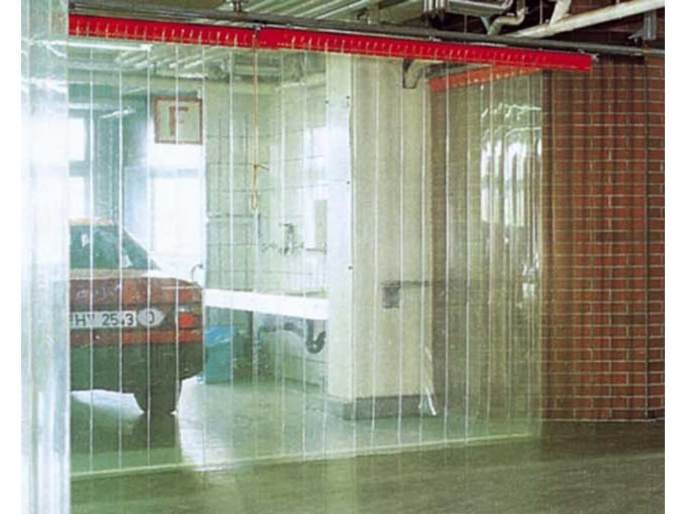 Porta a strisce in PVC Flex per chiusure industriali di grandi dimensioni
