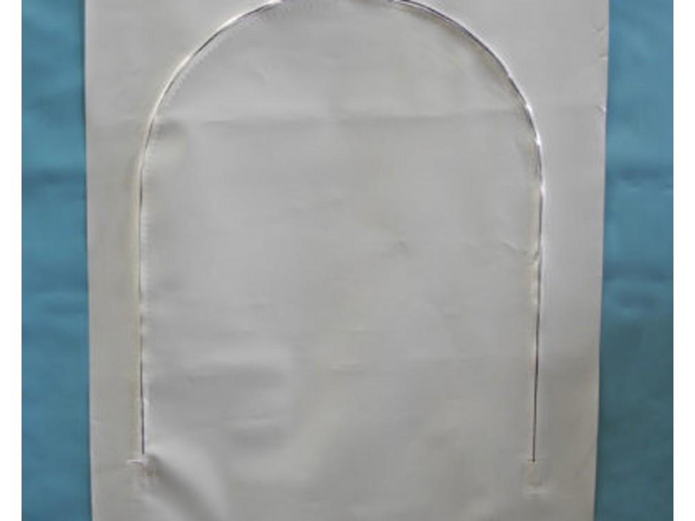 Porta d'ispezione per imballaggi in film termoretraibili