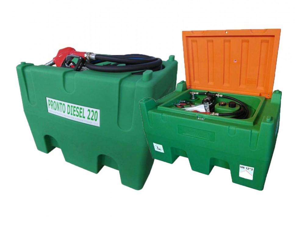 Serbatoio con pompa per trasporto Diesel