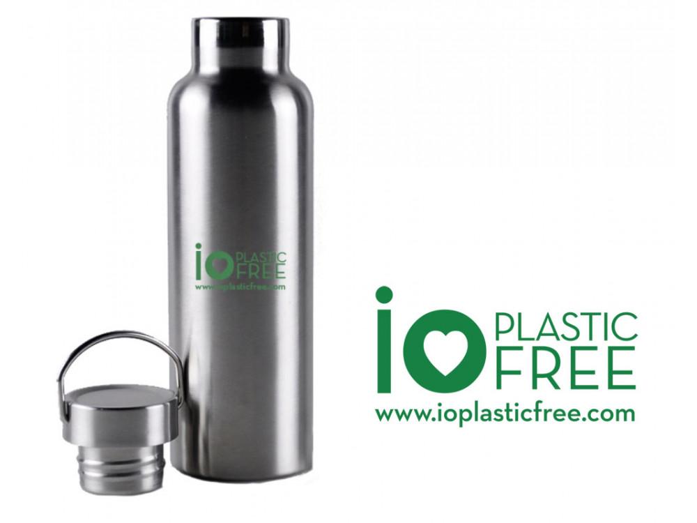 Borracce ecologiche in acciaio e alluminio Plastic Free Bottle