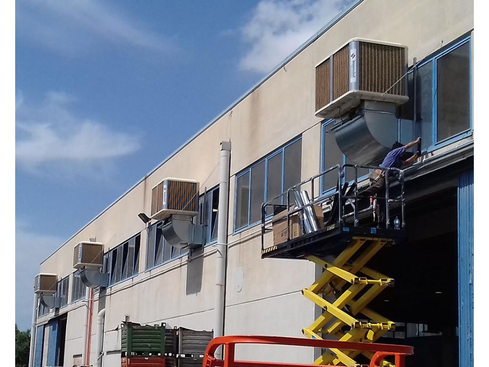 Raffrescatore evaporativo ColdAIR per parete