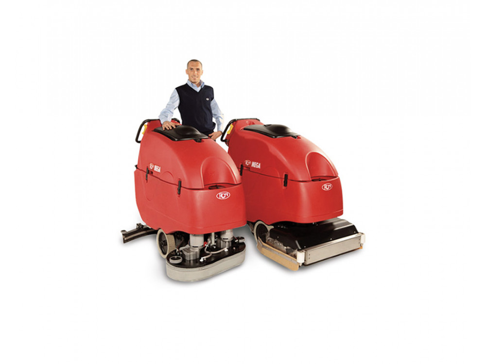 Sanificatrice per pavimenti Mega II 802 Inox Eco3 Sanitizing