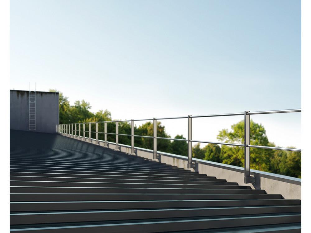 Parapetto verticale di sicurezza con ancoraggio a parete Limit System